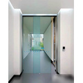 Exit automatic control slide doors