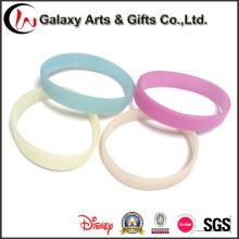 Cambio sol activado 202mm silicona pulsera visble pulsera de silicona de color
