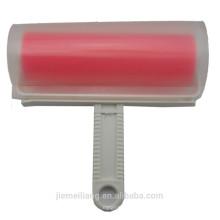 (JML) Rote Farbe Waschbare Kleidung Reinigung Roller Gummi Pinsel Flusenwalze