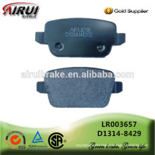 disc brake pads, OE quality, Chinese manufacturer (OE: LR003657/ D1314-8429)