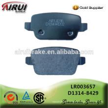 Almofadas de freio de disco, qualidade de OE, fabricante chinês (OE: LR003657 / D1314-8429)
