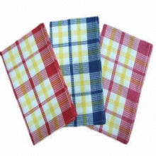 Waffle kitchen towel for kitchen cleaning use