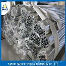 7075 T651 Aluminiumrohr / Rohr mit hoher Ausbeute / Zugstreckung
