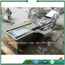 Machine à laver aux légumes en Chine, Ligne de transformation des légumes à la salade pour la laitue