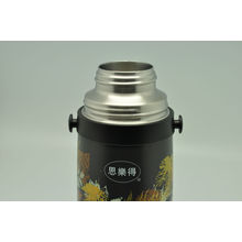 Hohe Qualität 304 Edelstahl Isolierflasche Doppelwand Isolierflasche Svf-600e