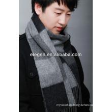 Hombres de alta calidad de lana de moda de impresión de toda la bufanda de marzo / mantón