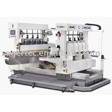 Glass Double Straight Line Round Edging Machine