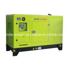 Generador de motor Isuzu insonorizado Unite Power 20kw