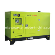 Unite Power 20kw Soundproof Isuzu Engine Generator