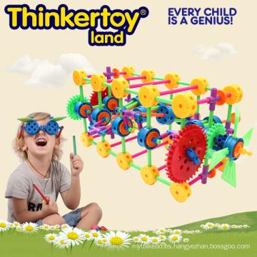 Juguete educativo del edificio para los niños Brains Block Toy