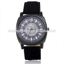 Venta al por mayor de moda digital de cuarzo reloj de pulsera de cuero para unisex SOXY052
