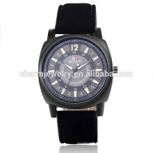 Vente en gros Mode Digital Quartz Leather Strap Watch For Unisex SOXY052