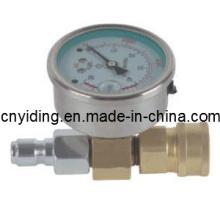 Medidor de pressão com conexão rápida (GQC)