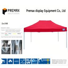 Impression personnalisée Tissu imperméable à l'eau pour tente promotionnelle en aluminium