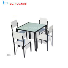 Hotel Dining Set for Outdoor with Kd Chairs (CF1015T+CF1015C)