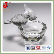 Kristallvogel mit Schale (JD-CA-109)