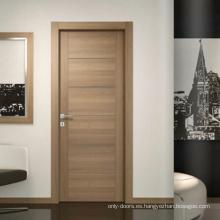 Puerta de madera interior de estilo europeo de lujo
