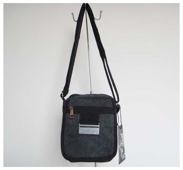 Soft Canvas Crossbody Bag
