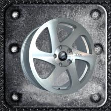 3DSM chrome alloy wheel for aftermarket