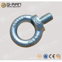 QINGDAO Q-RAN Rigging Zinc Metal Drop Forged DIN580 Eye Bolt