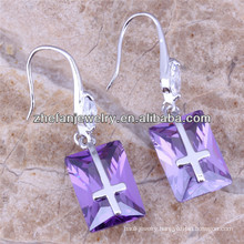 Japanese fashion dangle earring gemstone jewelry wholesale alibaba