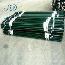 Poteaux de clôture en t en acier galvanisé bon marché mytext pour le Canada
