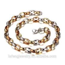 Chaîne de bijoux en acier inoxydable 316L mince belle chaîne de sac clé de collier