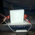 Painel de luz ajustável sem moldura LED 18 W