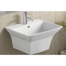 Керамическая настенная ванночка для ванной (5400)
