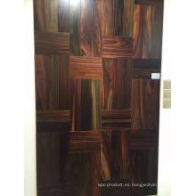 Lujoso, suave, natural, indonesia, palo de rosa, madera, interior, suelo