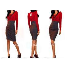 2011 nova moda estilo lápis vestido saia PZS004