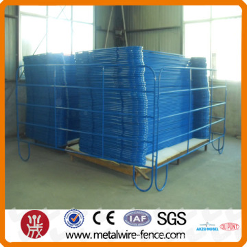 2015 shengxin 6 feet high cattle fence panel,grassland fence,temporary fence metal horse fence panels