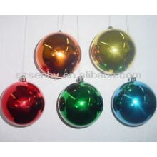 Wholesale Hanging Solid Colored Plastic Christmas Balls
