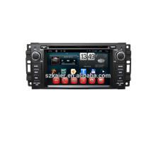 """6 """"carro dvd player, fábrica diretamente! Quad core, GPS, DVD, rádio, bluetooth para bússola de jipe"""