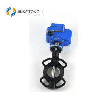 actuated 6 inch cf8m high pressure ptfe lined butterfly valve