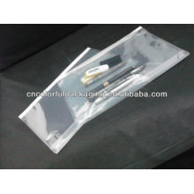 hot sale transparent plastic ziplock bag for document/plastic document pouch/bag with ziplock