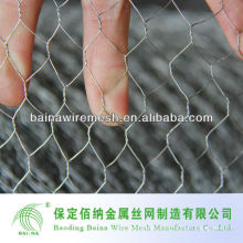 "3"" 4"" Galvanized Hexagonal Erosion Resisting Wire Mesh Netting"