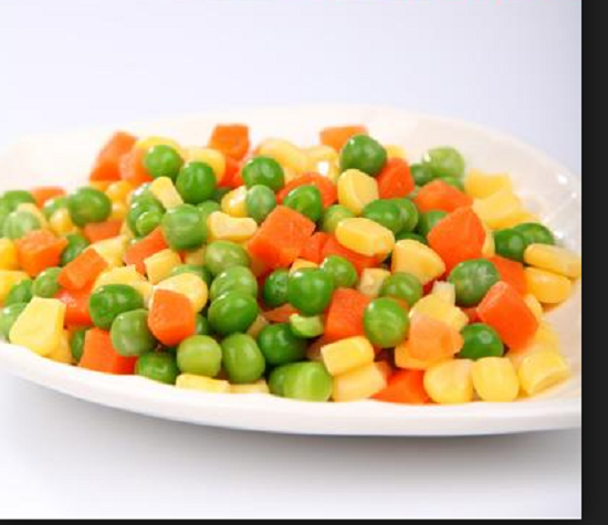 Frozen Mixed Vegetables with IQF