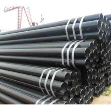 Tubos de aço soldados preto ASTM A106 Gr.B