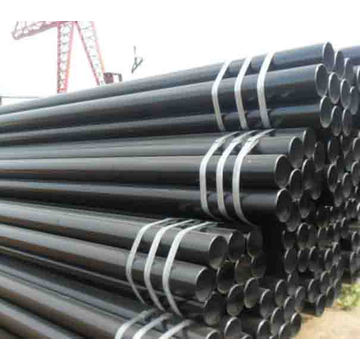 ASTM A106 Gr.B black welded steel pipes