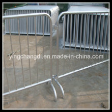 Heavy Duty Fixed Foot Pedestrian Crowd Control Barriers Pack