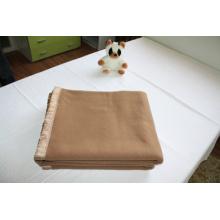 Gesponnene Wolle 100 % Acryl Armee /Military Decke (NMQ-AB004)
