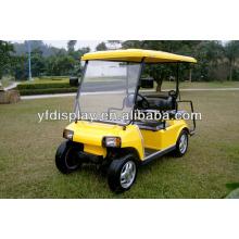 Pare-brise acrylique pour chariot de golf