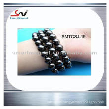 top quality Polishing Permanent Hematite Magnetic Bracelet