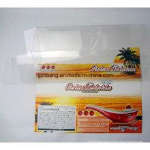 boîte imprimée en plastique transparent PP / PVC / PET (boîtes d'emballage transparentes)