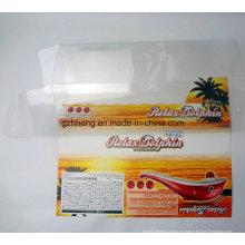 прозрачная пластмасса PP/PVC/любимчика напечатанная коробка (прозрачная упаковка коробки)
