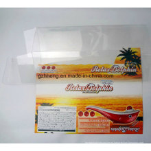 Plástico transparente PP / PVC / PET cuadro impreso (cajas de embalaje claro)