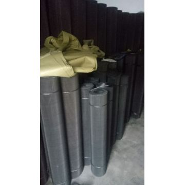 Heavy Black Stretched Expanded Metal Wire Mesh