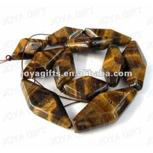 rhombus Shaped tigereye beads