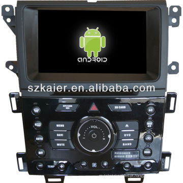 reprodutor de DVD do carro para o sistema de Android FORD Edge